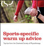Sports warm up advice